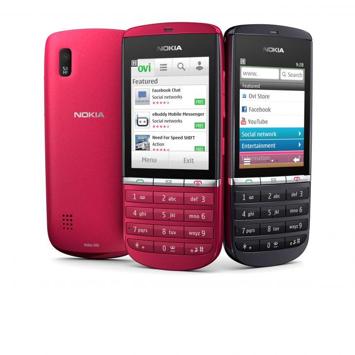 Nokia Asha: Nowa rodzina inteligentnych telefonów