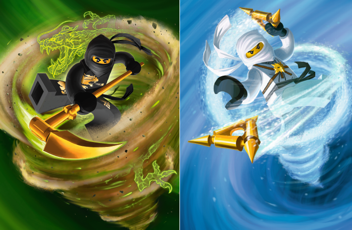 Nowy Sezon Ninjago Mistrzowie Spinjitzu W Cartoon Network