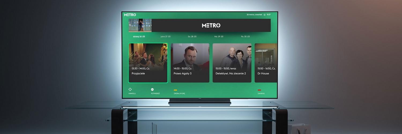 Telewizja Metro z technologią HbbTV