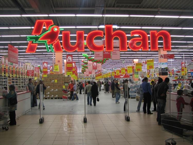 Auchan возглавил рейтинг самых дешёвых магазинов Польши