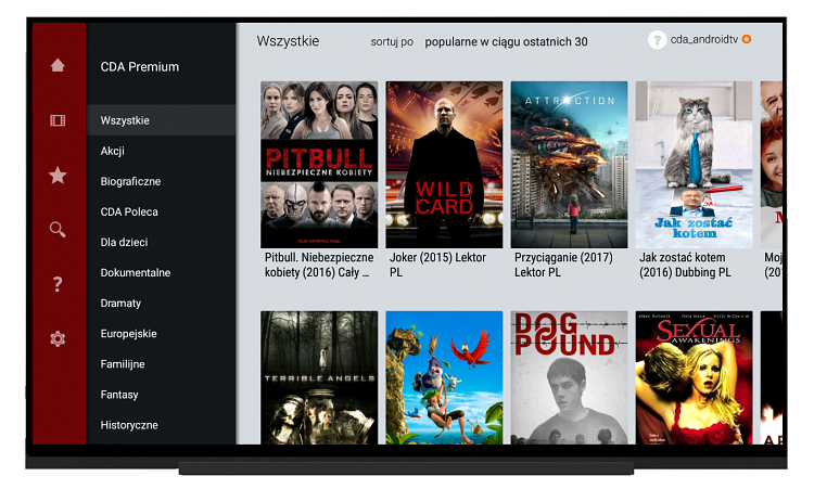 CDA na Android TV