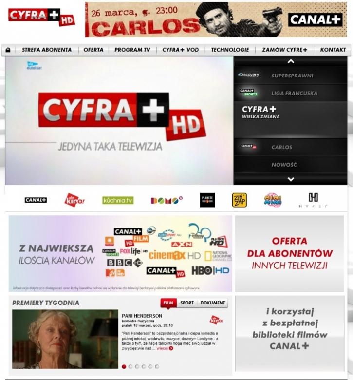 Nowa Cyfra W Internecie Nowy Program Tv Cyfra Plus Media2 Pl