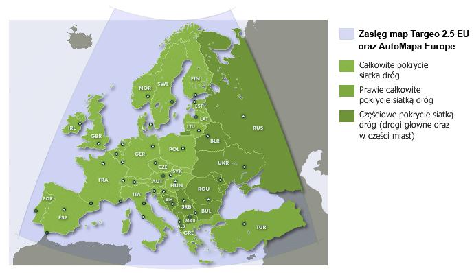 Targeo Pl Udostepnia Mapy Europy Targeo Pl Media2 Pl