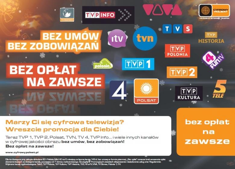 Telewizja Na Karte Polsat.Cyfrowy Polsat Bez Opłat I Umowy Wideo Cyfrowy Polsat Media2 Pl