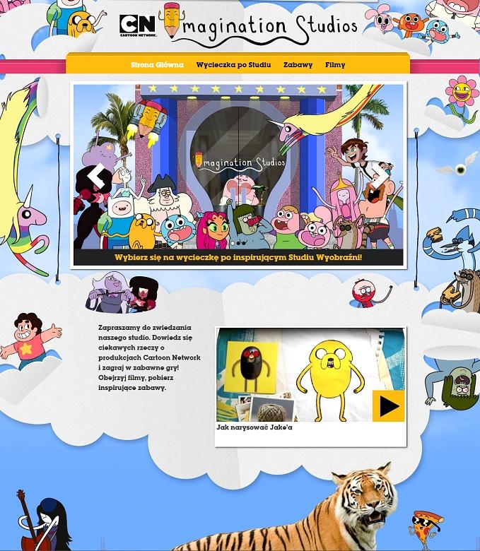 Rusza Studio Wyobrazni Cartoon Network Cartoon Network Media2 Pl