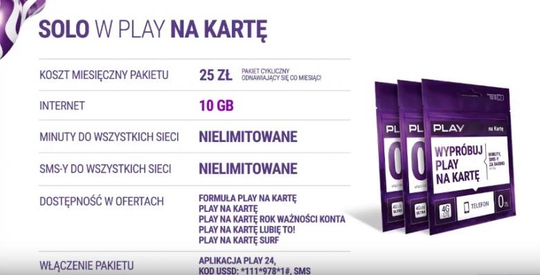 pakiet solo play kod