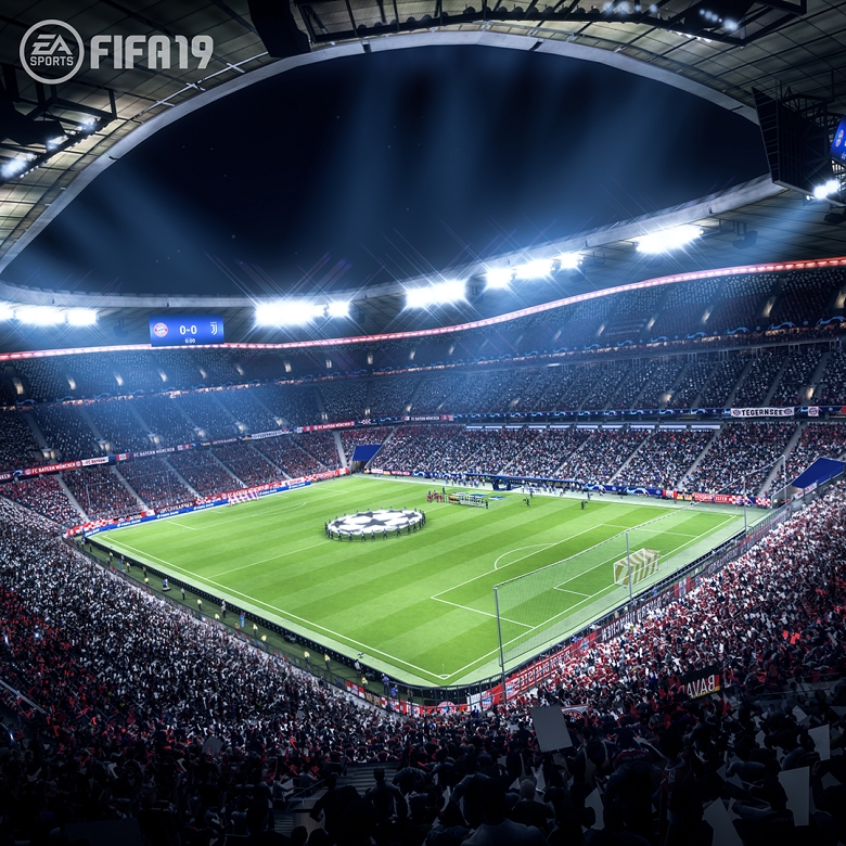 FIFA19 z UEFA Champions League / Fot. EA Sports