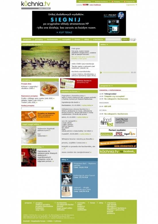 Nowy Serwis Internetowy Kuchnia Tv Kuchnia Plus Media2 Pl