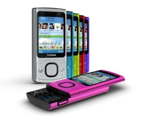 Super Nokia: Nowe rozsuwane telefony 3G - Nokia, telefon komórkowy  CD-85